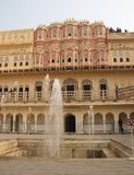 Hawa Mahal , Rajastan, Jaipur, India, 2012 , January, 3rd. Travel Hawa Mahal in Rajastan, Jaipur, India, year 2012 , January, 3rd Royalty Free Stock Images