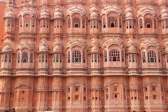 Hawa Mahal, Rajastan, Jaipur, la India, 2012, enero, 3ro imagen de archivo libre de regalías