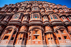 Hawa Mahal in Rajasthan Stockfotografie
