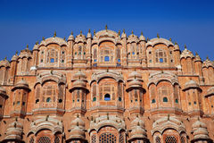 Hawa Mahal in red Royalty Free Stock Photo