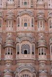 Hawa Mahal, rosa Palast von Winden in der alten Stadt Jaipur, Rajasthan, Indien lizenzfreie stockfotos