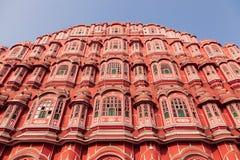 Hawa Mahal slott, Jaipur, Rajasthan, Indien Royaltyfri Bild