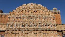 Hawa Mahal - slotten av lindar Royaltyfria Foton