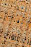 Hawa Mahal, slotten av Winds, Jaipur, Rajasthan, Indien royaltyfria bilder