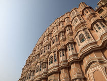 Hawa Mahal under the morning light Stock Photos