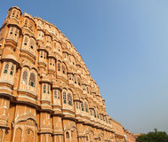 Hawa Mahal under sunlight Royalty Free Stock Photography