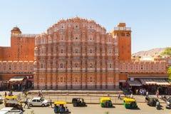 Hawa Mahal w Jaipur podczas dnia Obrazy Stock