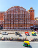Hawa Mahal w Jaipur podczas dnia Fotografia Royalty Free