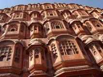 Hawa Mahal (Wind Palace). India, Jaipur Royalty Free Stock Photos