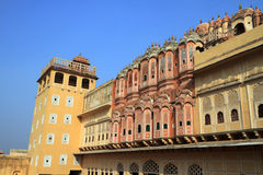 Hawa Mahal - Wind Palace in Jaipur, Rajasthan, India Stock Image