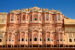 Hawa Mahal - Wind Palace in Jaipur, Rajasthan, India Royalty Free Stock Image