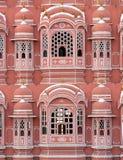 hawa pałacu różowego mahal widok Fotografia Royalty Free