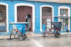 Hawańscy rowerowi taxi Obrazy Stock
