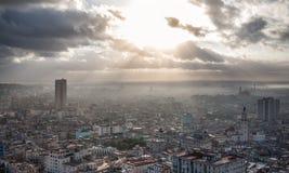 Hawański, Kuba, denny widok Obrazy Royalty Free
