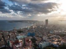 Hawański, Kuba, denny widok Obraz Stock