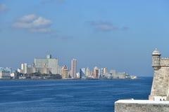 Hawański, Kuba - Odgórny widok zdjęcia royalty free