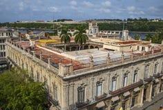 Hawański, Palacio De Los Capitanes Generales Obraz Royalty Free