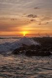 Hawai sunet zdjęcie royalty free