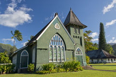 Hawaian christian church Royalty Free Stock Photo