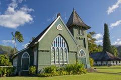 Hawaian christian church. Christian church in Hawaii on sunny day Royalty Free Stock Photo
