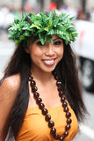 Hawaian girl Stock Photos