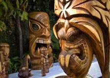 Hawaian Tiki Royaltyfri Foto