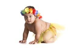 Hawaiano del bambino Fotografia Stock Libera da Diritti