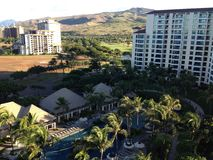 Hawaiano Mountain View immagini stock libere da diritti