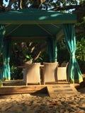 Hawaiansk Cabana Royaltyfri Bild