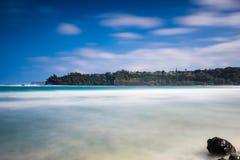 Hawaiansk fjärd med silkeslent vatten royaltyfria foton