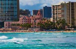 hawaiansk hotellkunglig person Arkivbilder
