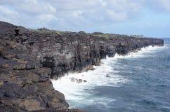 Hawaiansk kust, USA Fotografering för Bildbyråer