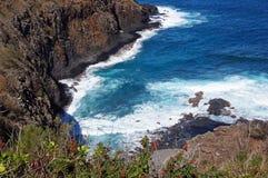 Hawaiansk kust, USA Royaltyfria Foton