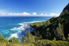 Hawaiansk kust, USA Arkivfoton