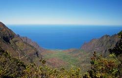 Hawaiansk kust, USA Royaltyfri Bild