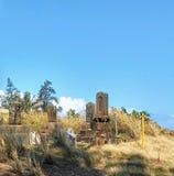 Hawaiansk kyrkogård Fotografering för Bildbyråer