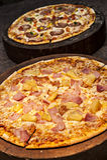 Hawaiansk Pizza Arkivbild