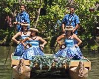 Hawaianska aktörer Fotografering för Bildbyråer