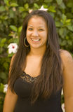hawaianskt le för härlig flicka Royaltyfria Bilder