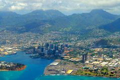 Hawaii. Honolulu Hawaii and the warm welcome of tropical paradise Stock Image