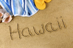 Hawaii beach  Stock Photography