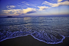 Hawaii beach in late afternoon Royalty Free Stock Images