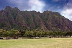 hawaii berg Arkivbild