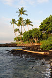 Hawaii Big Island Kona Coast early morning Stock Photos