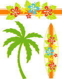 Hawaii-Brandung Stockfotos