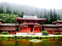 Hawaii Buddhist Temple Royalty Free Stock Images