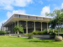 Hawaii Capitol. Capitol Building in Honolulu, Hawaii Royalty Free Stock Photo