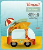 Hawaii Card Bus Stock Photos