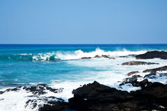 Hawaii coast Stock Photography