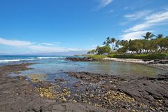 Hawaii coast Stock Image